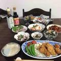 牡蠣フライの食卓