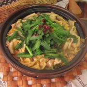 簡単!麻婆風白菜と豚バラの重ね鍋