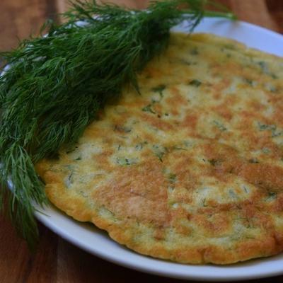 トルコ風パンケーキ(カイガナ)。