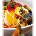 パスタソースで簡単本格的なトマトソースパスタ。 by ゆみちょさん