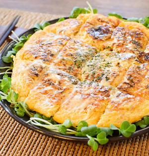 激盛り5分。絶品ツナチーズの迅速マヨポンチヂミ(糖質6.8g)
