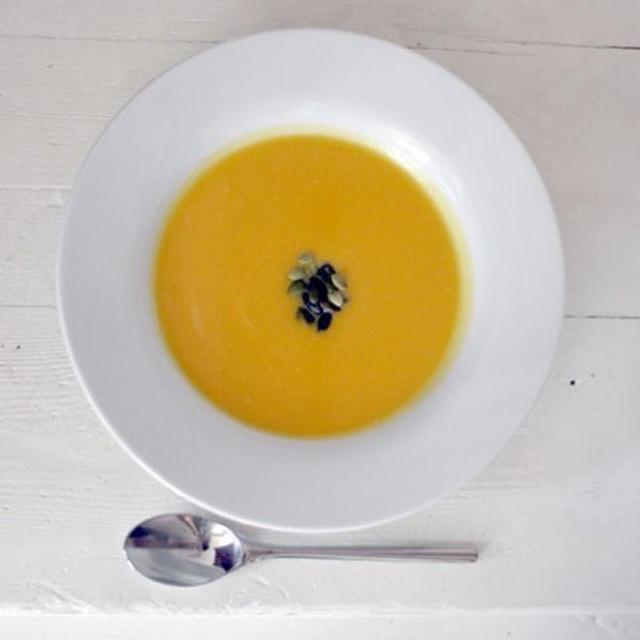 バターナットスクオッシュのスープ