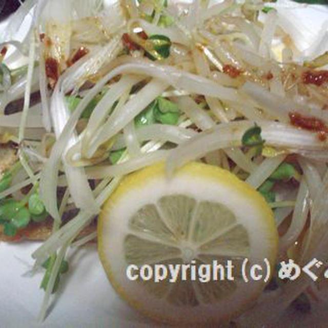 さわらのムニエル・生姜醤油ソース