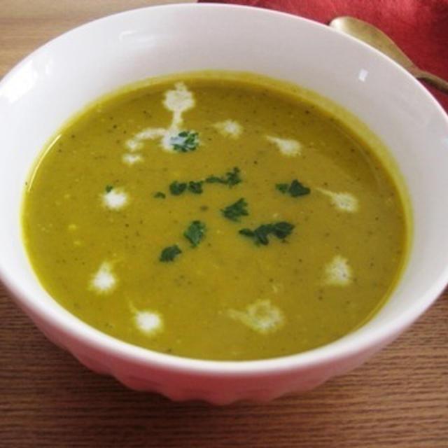 かぼちゃとたまねぎのスープ