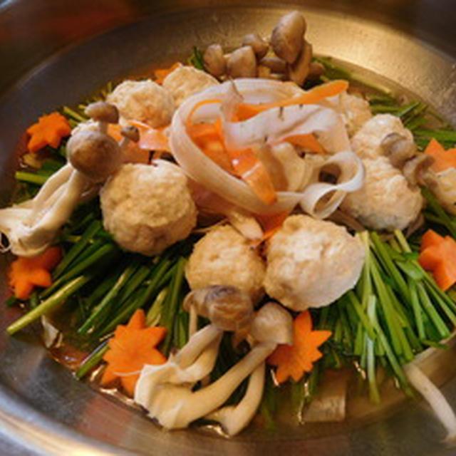 リボン野菜のひらひら鍋