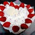 【レシピ】HMで簡単! チョコケーキ風デコレーションケーキ(^^♪ by ☆s4☆さん