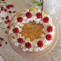 レシピ*楽々簡単♪かわいいデコレーションケーキ*クリスマスにもおすすめ
