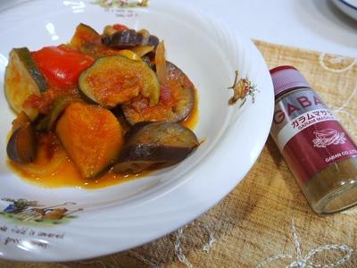 スパイスで減塩☆夏野菜たっぷりラタトゥイユ♪
