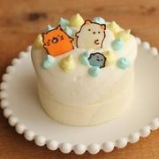 すみっこぐらし?の誕生日ケーキ