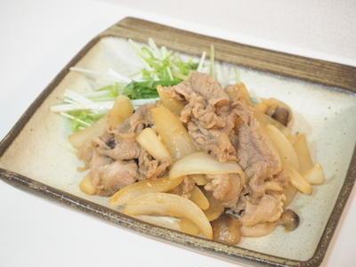 >【レシピ】ノンオイルで☆豚肉のしょうが焼き by らびっとさん