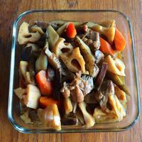 【煮物】根菜が美味しい炒り鶏