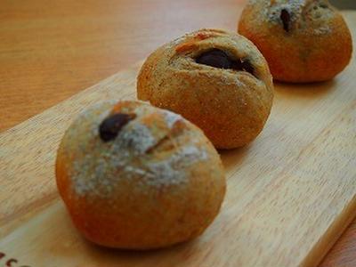 イマイチ、栗のパン