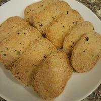 えび風味ハンバーグのマヨハーブフライ