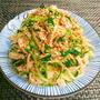 ヘルシーダイエット飯♡ささみと水菜と長ネギの旨辛ナムル