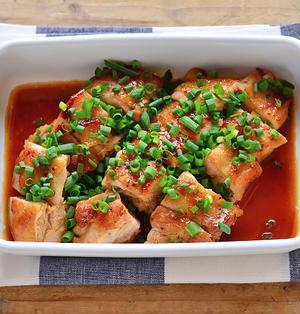 あっさり美味しい。ポン酢照り焼きチキン