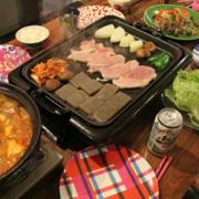 【ランチはダイエットカレーで~す!!】...鶏むね肉+カレー粉+ヒレトンカツです...