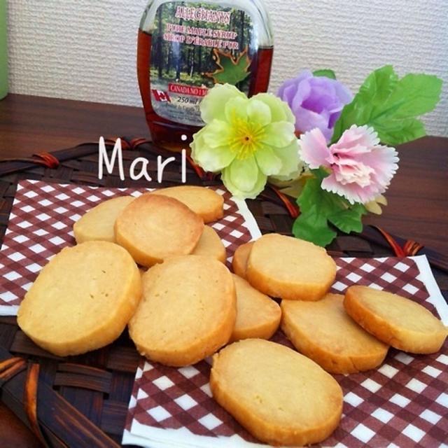 メープルじゅわ〜♡さっくさく♡メープルクッキー / カレーランチ♡