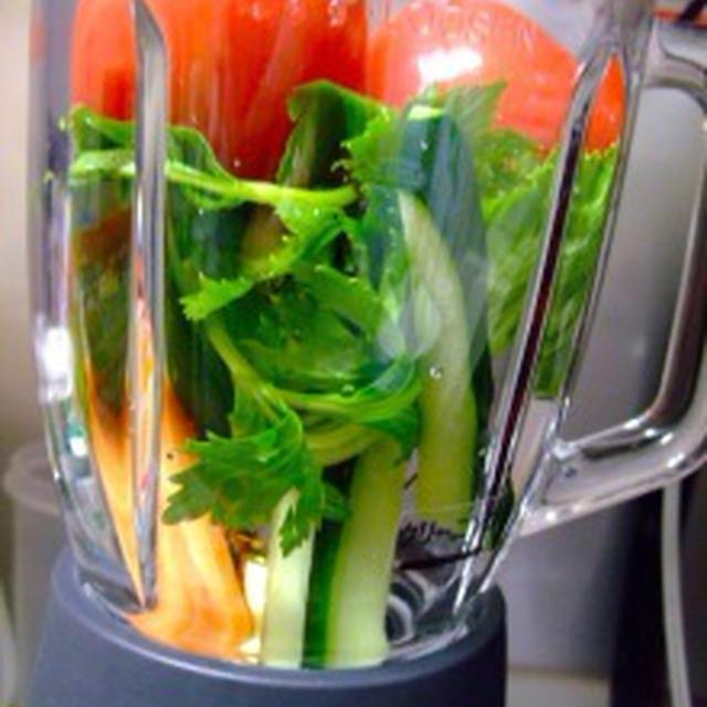 手作り野菜ジュース