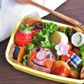 お弁当おかずレシピ5選 遠足のお弁当 サンタからのアンパンマン