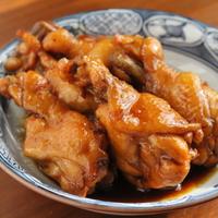 【簡単作り置きレシピ】鳥手羽元の甘辛さっぱり煮(お酢煮)