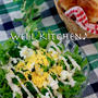 黄色白色別々フリフリ 間違いなく鮮やかミモザサラダだすっ!