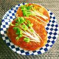 お弁当にも◎ふわふわ絶品!大豆とお豆腐の和風おろし豚バーグ