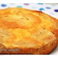 りんごのクリームチーズケーキ♪