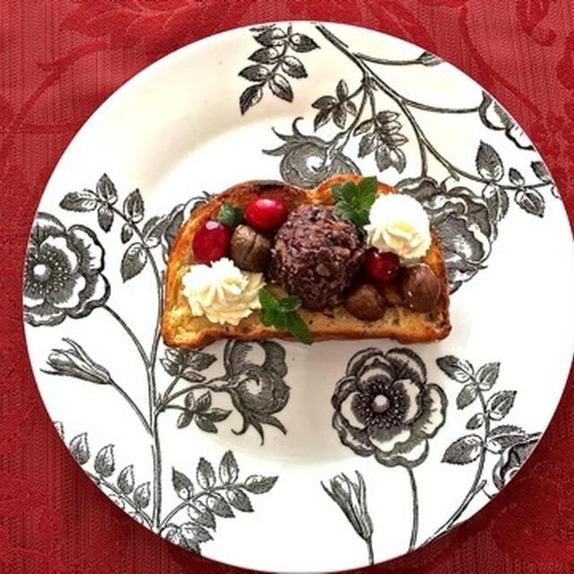 リプトンひらめき朝食で♪素敵な1日を❤︎厚切り餡子トースト❤︎