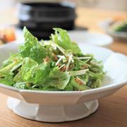 水菜と胡瓜の無限サラダ