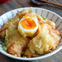 【レシピ】鶏むね肉で作る鶏天丼