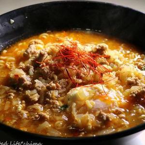 韓国のピリ辛人気麺♪「辛ラーメン」をアレンジしてさらに美味しく!