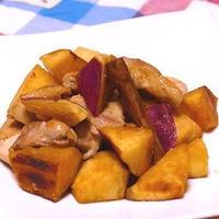 サツマイモと鶏肉のシナモン煮~スパイス大使