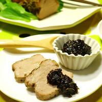 ローズマリーはちみつみそ味噌でいただく♪ローズマリーローストポーク ハーブ・スパイス・豚肉・オーブン焼き料理 -Recipe No.1430-