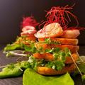ポテトスタックタワー  #ポテトスタック #朝食 #鶏むね肉