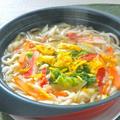 簡単&ヘルシーであったかい〜たっぷり白菜に生姜と柚子のうどん鍋。 by akkiさん
