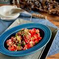 ジメジメ季節におすすめ!さっぱりトマトとミョウガのサラダ