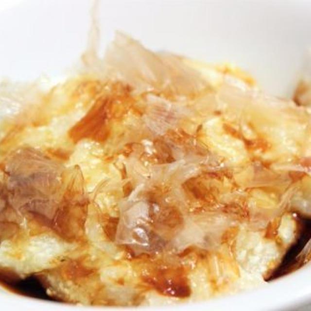 【レシピ】レンジで簡単!もちもち「ヘルシー豆腐もち」