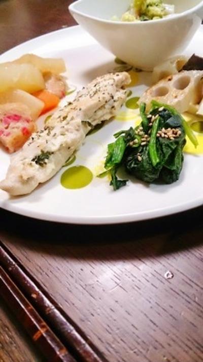 白ポン酢で副菜。と、最近の悩み。 #日東醸造  #三河特産