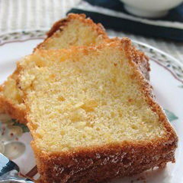 米粉のシトラスシフォンケーキのレシピ