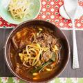 ユッケジャン(韓国風牛肉のピリ辛スープ) by 庭乃桃さん