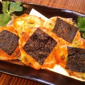 【山芋の枝豆海苔チーズ】うんま~っ♪