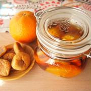 ドライイチジクとオレンジのフルブラ