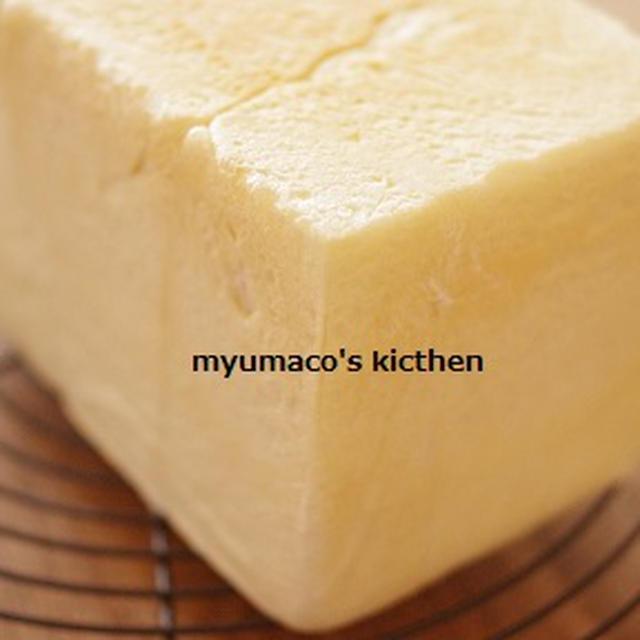 白い柔らか食パン