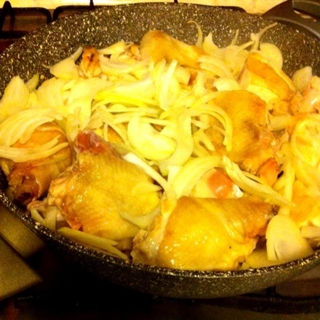 モロッコ料理☆チキンとレモンのタジンのレシピ