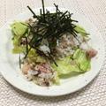 (レシピ)さんまの蒲焼き缶でできちゃう!カンタンサラダ寿司
