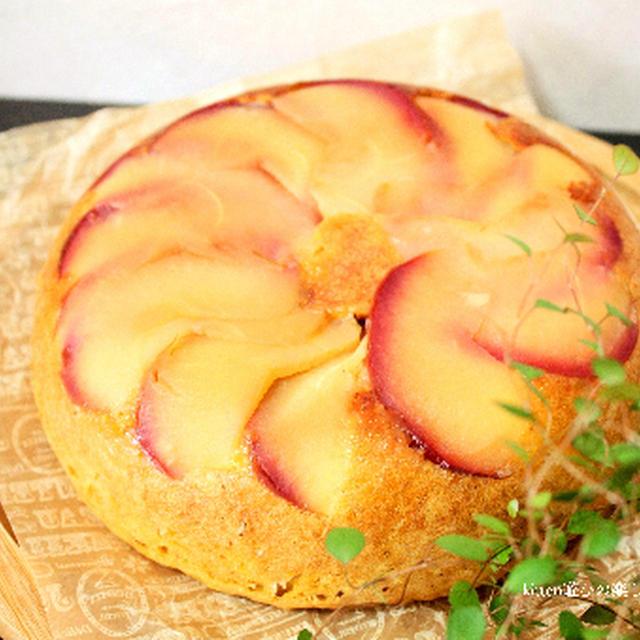 バター・生クリーム不使用!! 炊飯器deリンゴと人参のケーキ