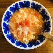 めっちゃ簡単!中華風◯トマ玉スープ。