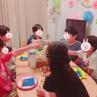 息子の誕生日会!サプライズとお料理とケーキ