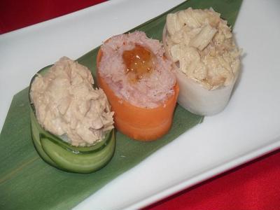 缶詰め de 野菜軍艦巻き
