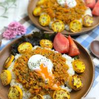 【レシピ】ほぼ野菜、ひまわりドライカレー